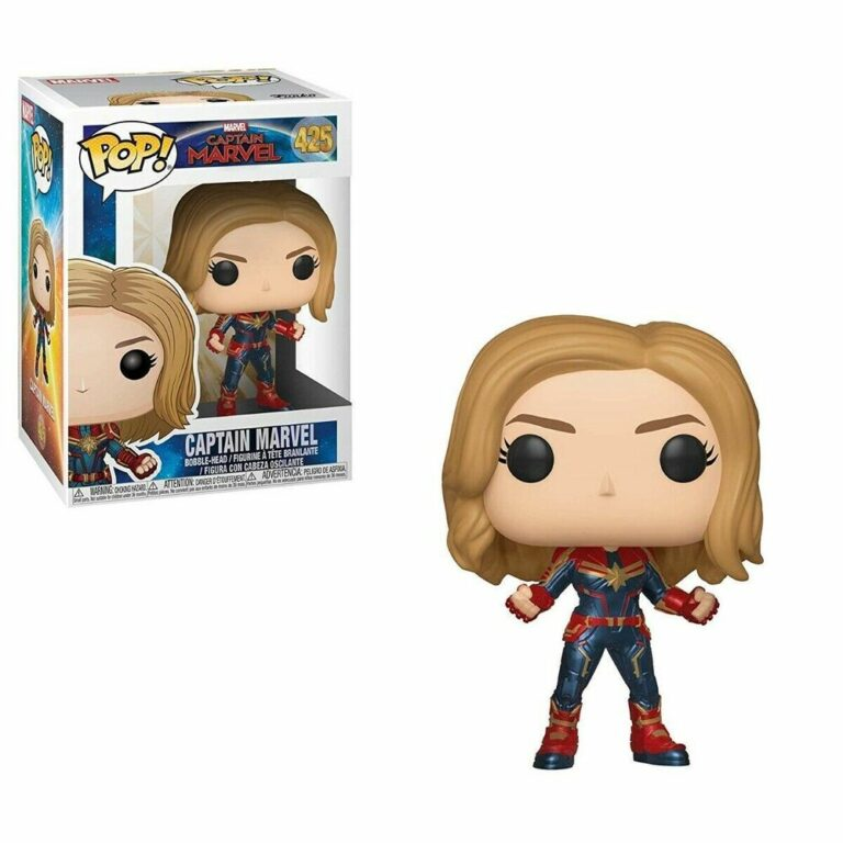 Funko Pop! Captain Marvel  - Captain Marvel - Pop Vinyl Figure #425