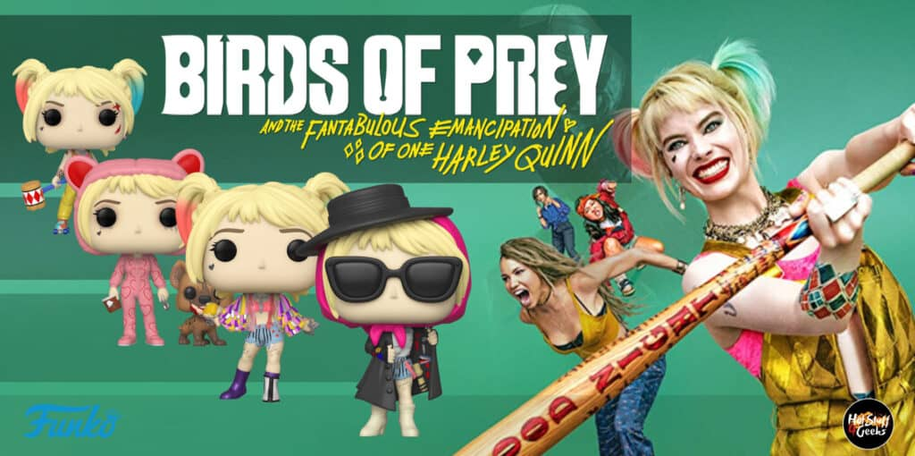 Funko Pop! Birds of Prey Checklist, List, Gallery, Exclusives and Chase