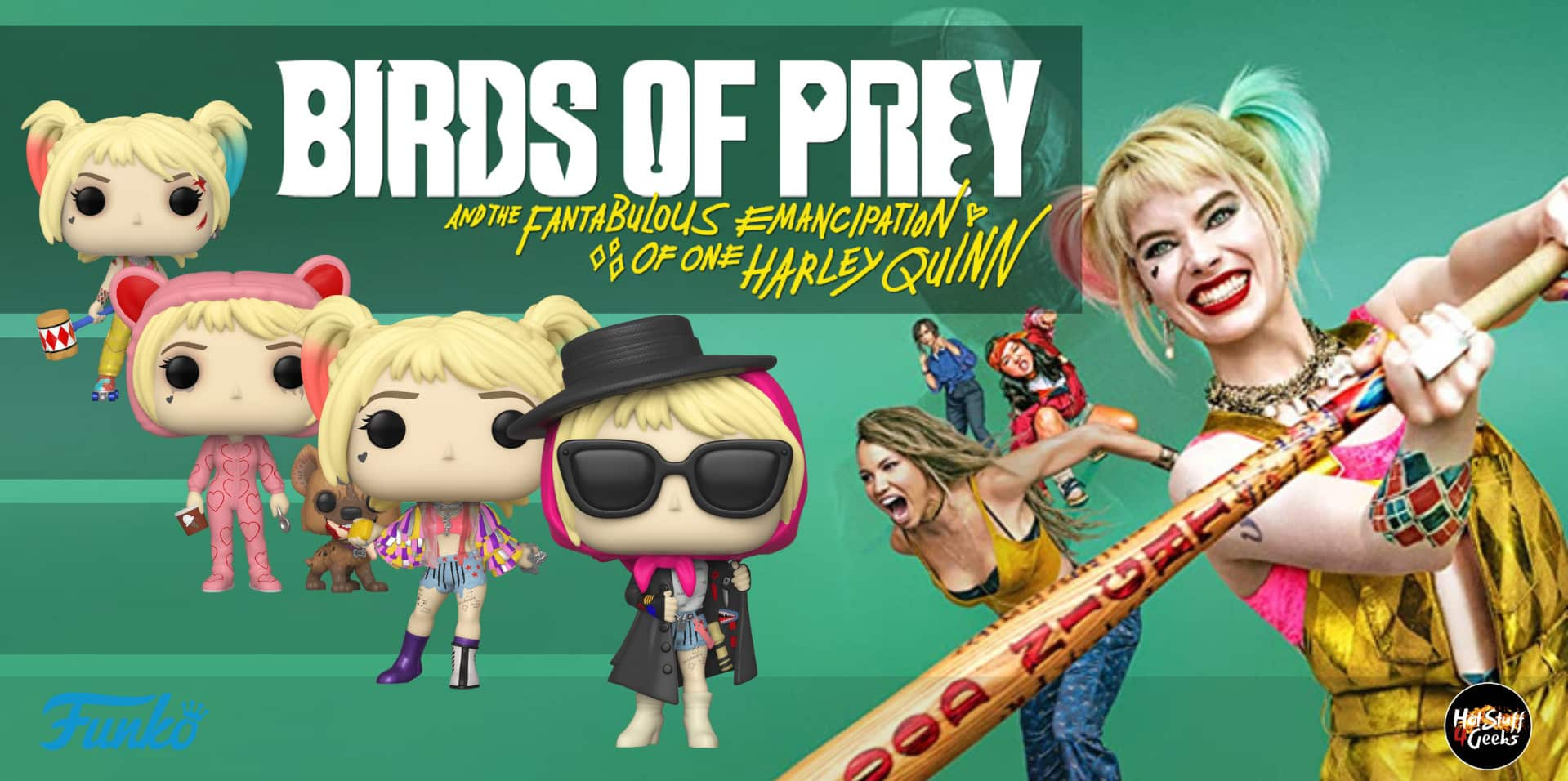 Birds Of Prey Funko Pop List Gallery Exclusives Chase Hot Stuff 4 Geeks
