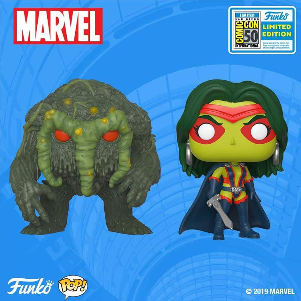 Funko POP SDCC Exclusive Marvel Gamora imited Edition