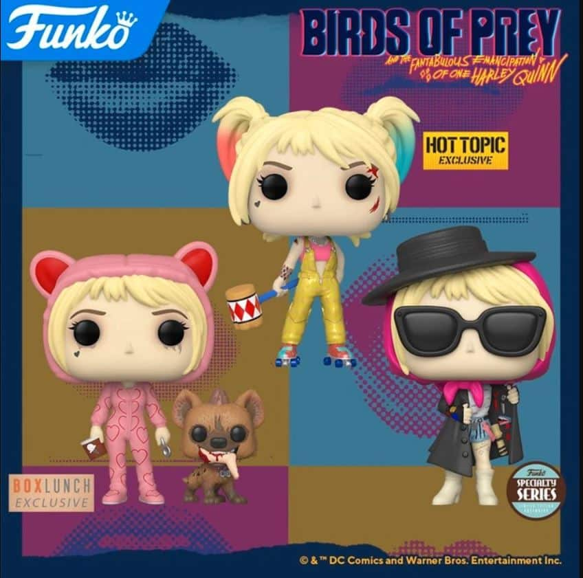 New Funko Pop Birds Of Prey Harley Quinn Boobytrap Battle Hot Stuff 4 Geeks