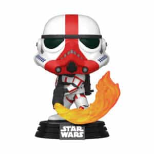 Funko Pop! Star Wars: The Mandalorian - Incinerator Stormtrooper - Pop Vinyl Figure #350