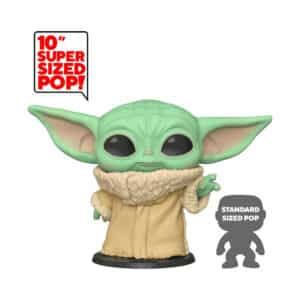 "Funko Pop! Star Wars: The Mandalorian – The Child (Baby Yoda) Life-Size 10"" - Pop Vinyl Figure #369"