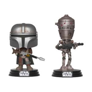 Funko Pop! Star Wars: The Mandalorian - The Mandalorian & IG-11 2 Pack (Barnes and Noble Exclusive) #02