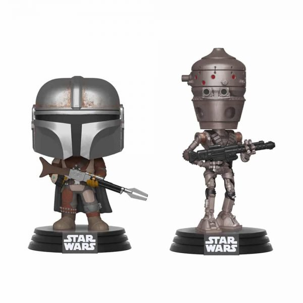 Funko Pop! Star Wars: The Mandalorian - The Mandalorian & IG-11 2 Pack  - Barnes and Noble Exclusive