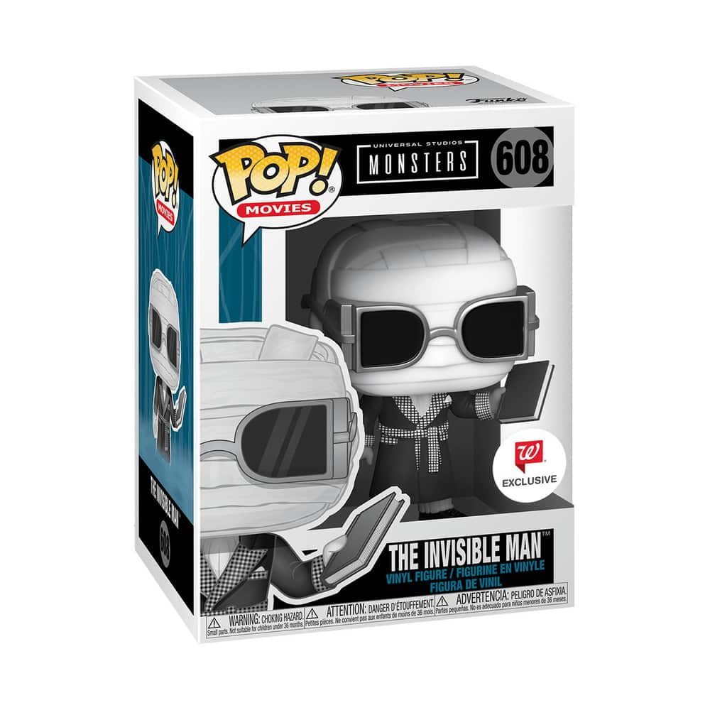 605 Universal Monsters The Invisible Man Funkoween Funko Pop Figure Box