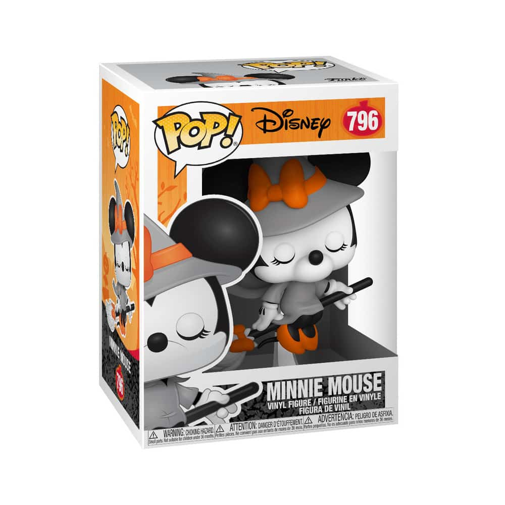 796 Disney Hallowen Minnie Mouse Funkoween Funko POP Figure Box