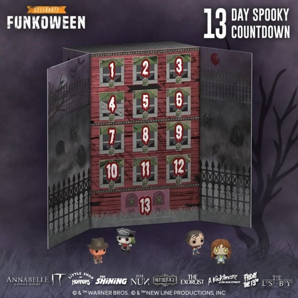 Funko Advent Calendar 13 - Day Spooky Countdown