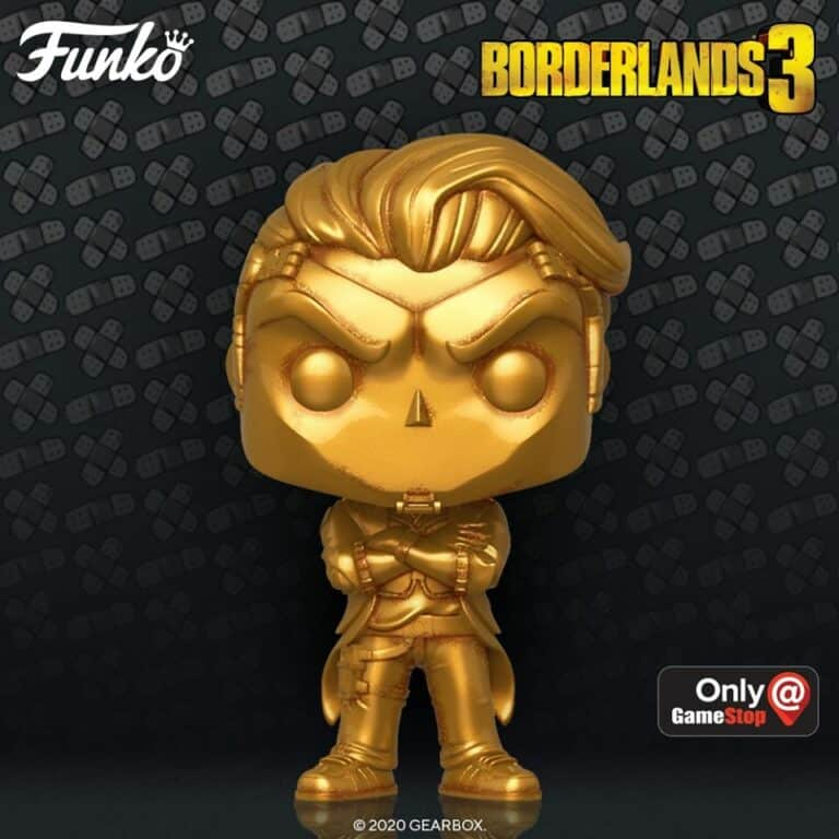 Funko E3 2020 Exclusives Pop! Games - Borderlands 3 Handsome Jack Metallic