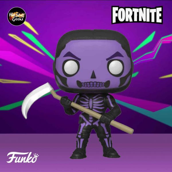 Funko E3 2020 Exclusives: POP! Games: Fortnite Skull Trooper Purple Funko Pop Vinyl Figure - GameStop Exclusive