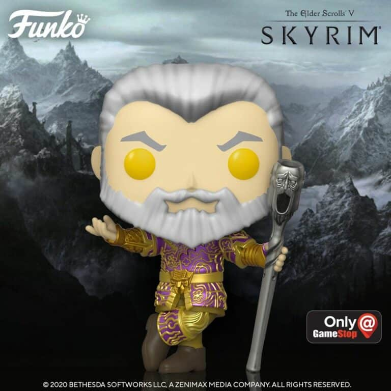 Funko E3 2020 Exclusives Pop! Games - The Elder Scrolls V: Skyrim Sheogorath with Wabbajack