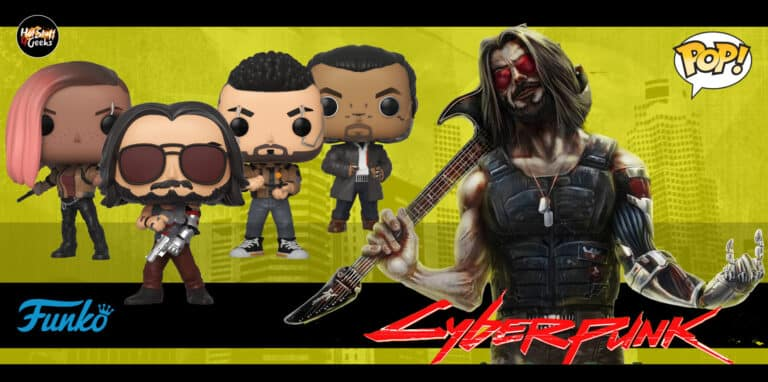 Funko POP! Cyberpunk 2077 Checklist [List, Gallery, Exclusives]