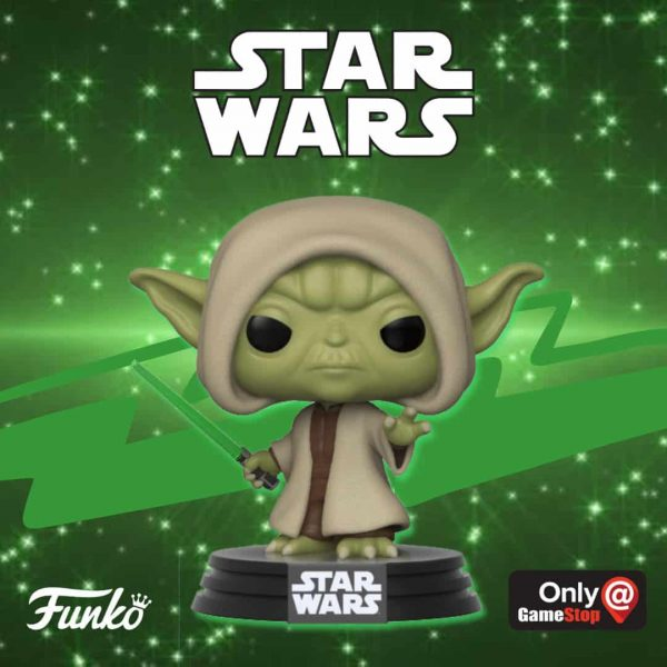Funko POP Games Star Wars Battlefront Yoda Hooded Pop Vinyl Figure