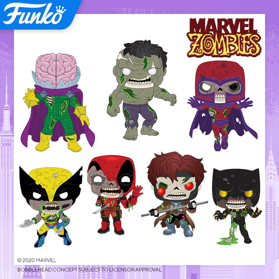 Funko POP Marvel Zombies Wave from Toy Fair 2020