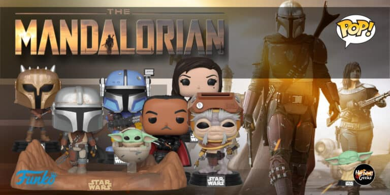 Funko POP! Star Wars The Mandalorian Checklist [List, Gallery, Exclusives & Chase]