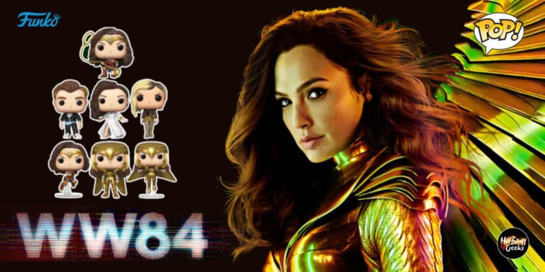 Funko POP! Wonder Woman 1984 Checklist