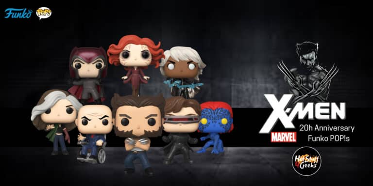 Funko POP X Men 20th Anniversary