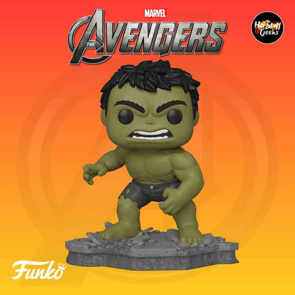 Funko Pop! Deluxe, Marvel Avengers Assemble Series - Hulk, Amazon Exclusive, Figure 2 of 6