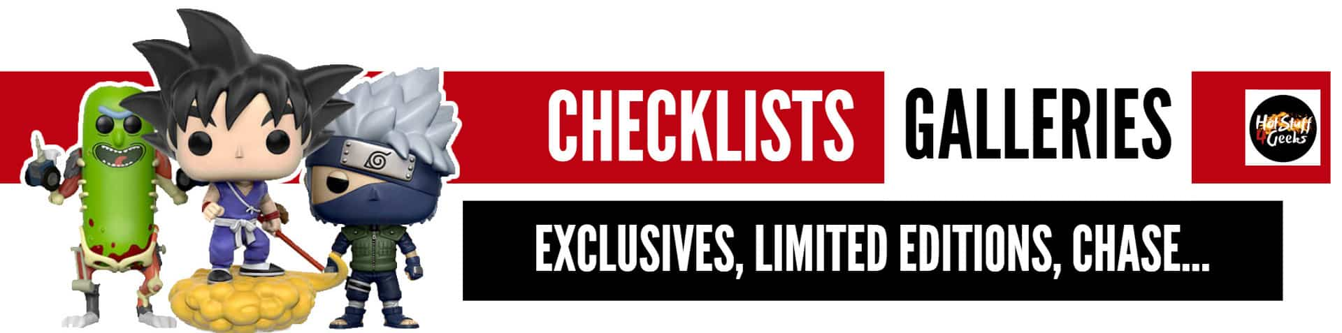 Funko Pop Figures Checklists and Galleries