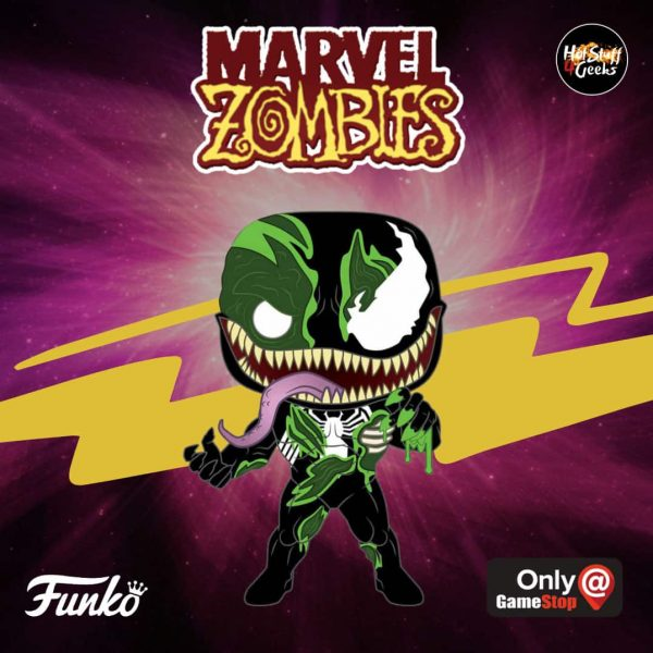 Funko Pop! Marvel Zombies - Venom Zombie  (GameStop Exclusive) - Funko Pop Vinyl Figure