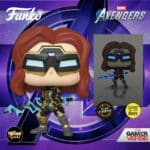 Funko Pop! Marvel's Avengers 2020: Game - Black Widow In Stark Tech Suit Glow In the Dark With Chase Variant Gamerverse Funko Pop! Vinyl Figure