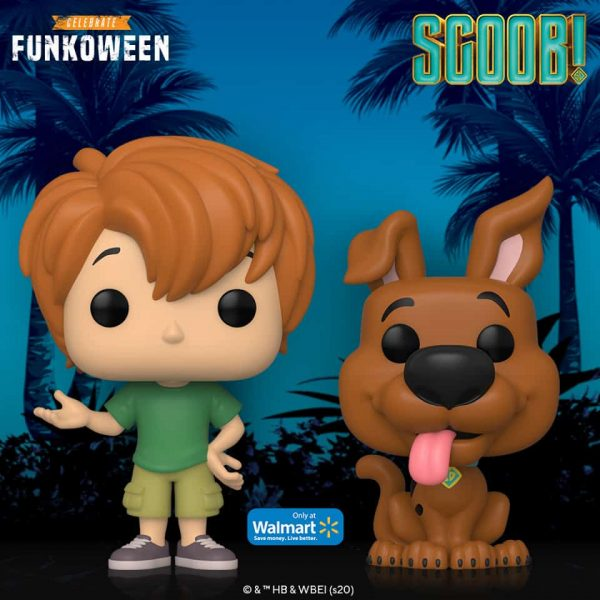 Funko Pop! Movies - Scoob! Shaggy & Scooby-Doo