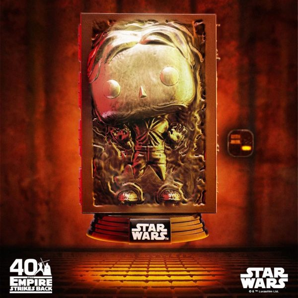 Funko Pop! Star Wars Episode V The Empire Strikes Back the 40th Anniversary Han Solo (Carbonite)