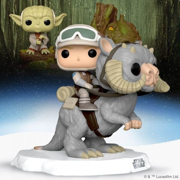 Funko Pop! Star Wars: Episode V The Empire Strikes Back the 40th Anniversary: Luke Skywalker With Tauntaun Funko Pop! Vinyl Figure