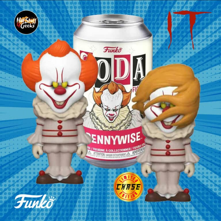 Funko Vinyl Soda - It Pennywise Funko Figures with chase variant