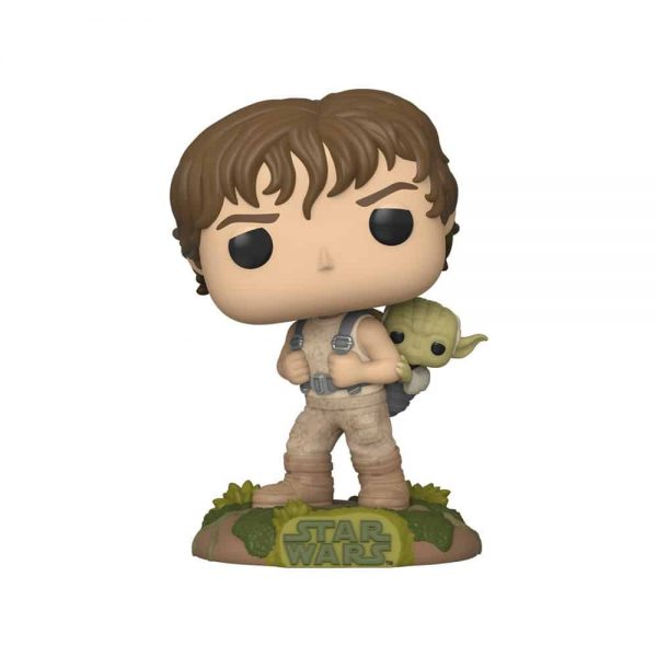 Funko Pop! Star Wars: Episode V The Empire Strikes Back the 40th Anniversary - Luke Skywalker & Yoda Funko Pop! Vinyl Figure