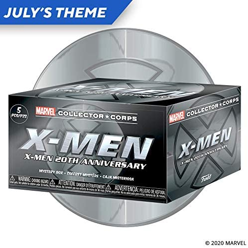 Marvel Collector Corps X-Men 20th Anniversary subscription box