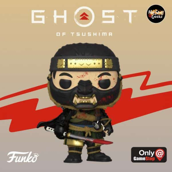 POP! Games Ghost of Tsushima - Jin Sakai Funko Pop Vinyl Figure