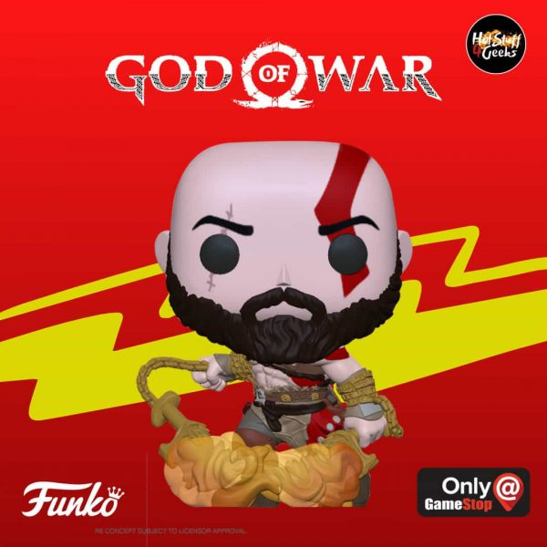 POP! Games God of War - Kratos Funko Pop Vinyl Figure