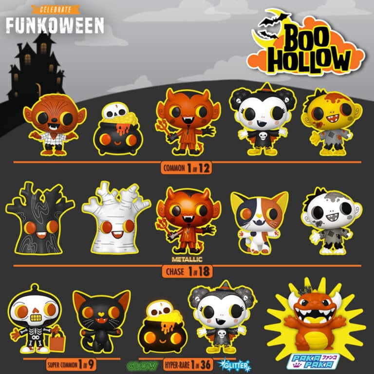 Paka Paka - Boo Hollow Funkoween Funko Pop Figures
