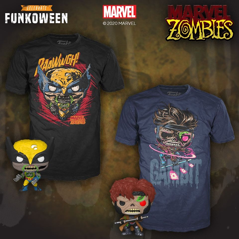 Pocket Pop! and Tee Marvel Zombies