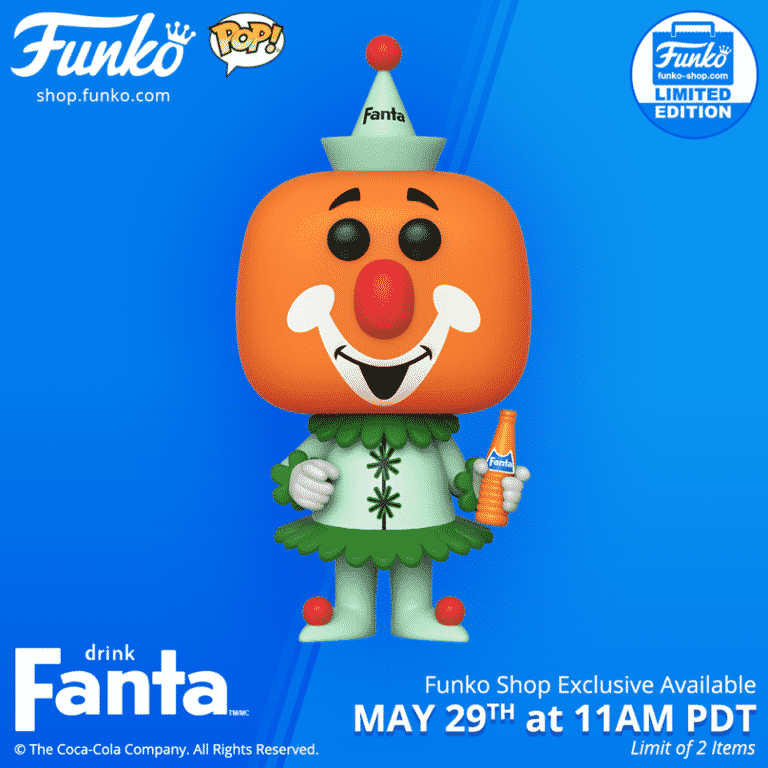 Pop! Ad Icon Fanta Clown Pop Vinyl Figure