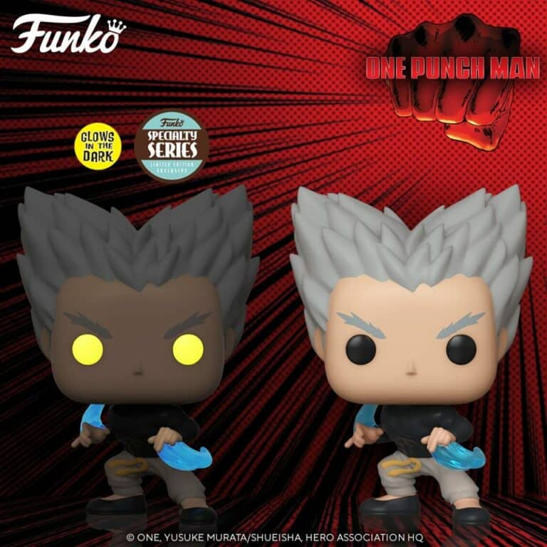 Pop! Animation One Punch Man - Garou Wave Funko Pop Figures