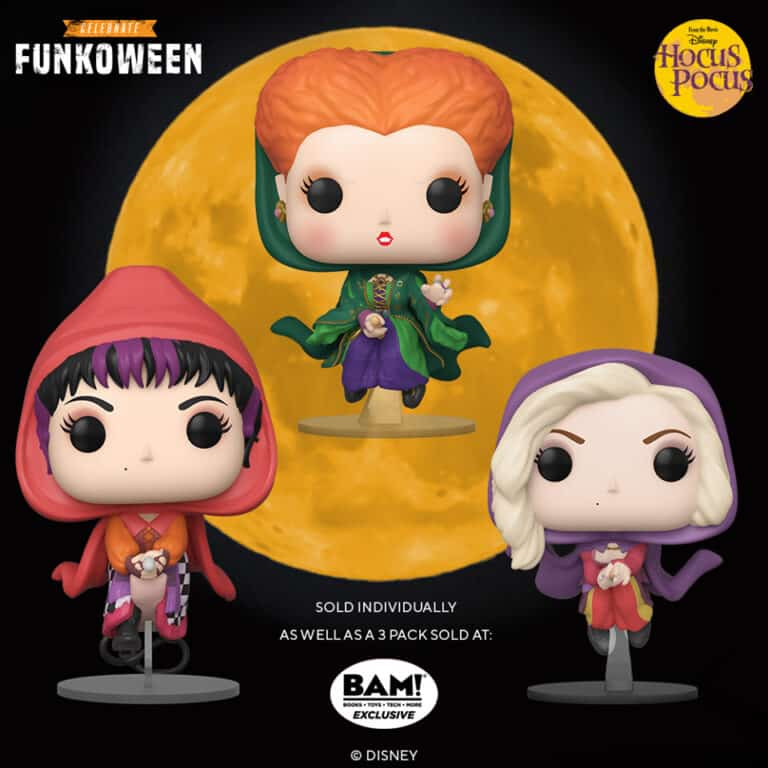 Pop! Disney - Hocus Pocus Funkoween Set of Figures