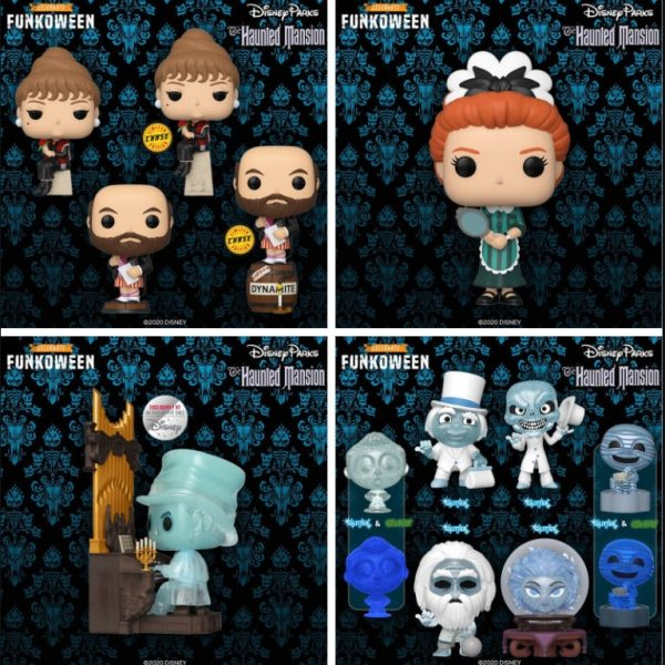 Pop! Disney Parks The Haunted Mansion Complete Set