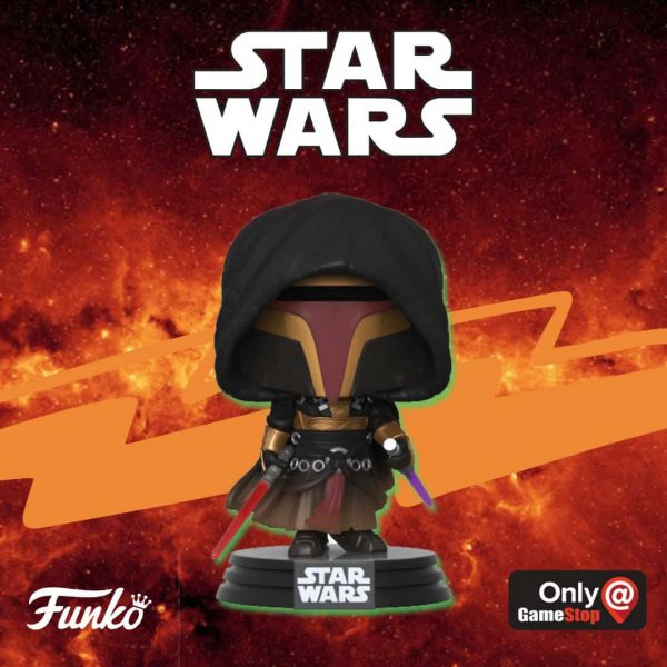 Pop Games Star Wars Knights of the Old Republic Revan Pop Vinyl Figure