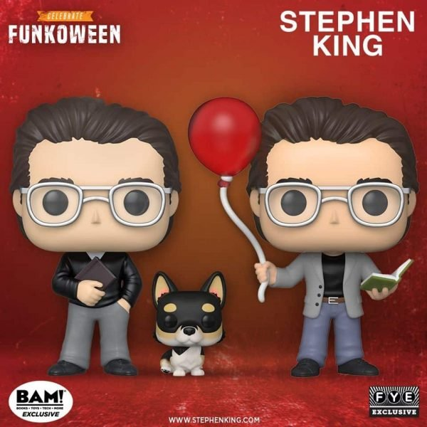 Pop! Icons - Stephen King Funkoween Funko Pop figures