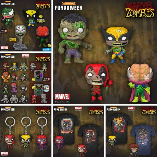 Pop Marvel Marvel Zombies Funkoween Funko Pop Figures