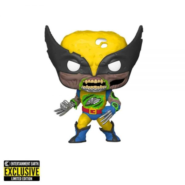 Pop! Marvel Zombies - Wolverine Zombie glows in the dark Entertainment Earth Exclusive Funko Pop
