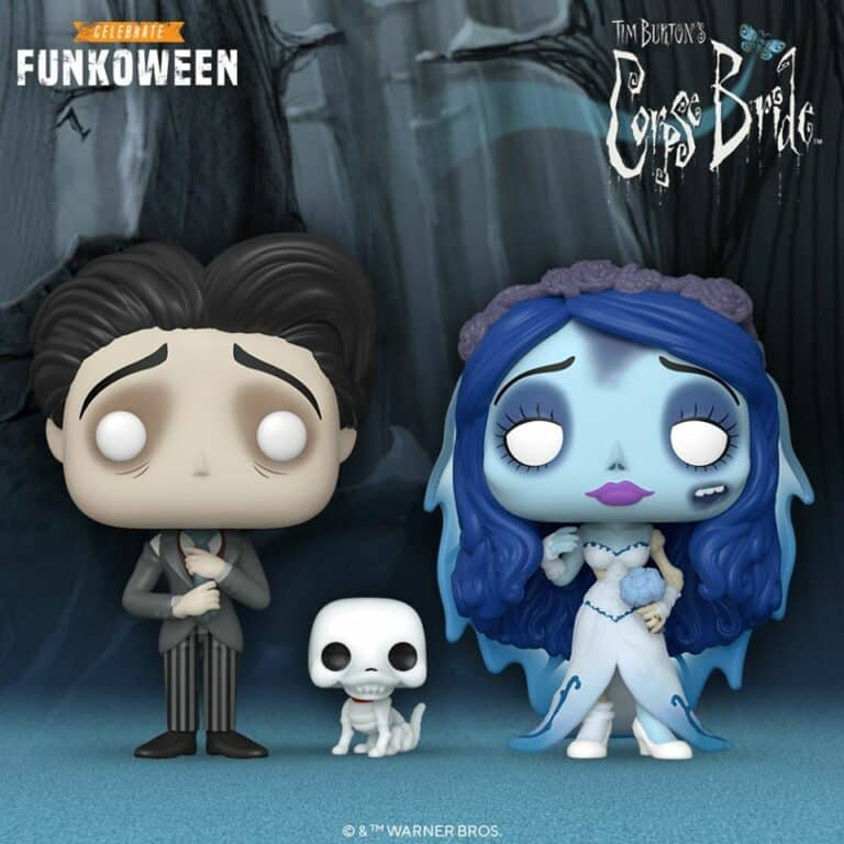 Pop! Movies - Corpse Bride Funkoween Funko Pop Figures