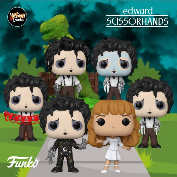 Pop! Movies - Edward Scissorhands Funko Pop Vinyl Figures Funkoween Event 2020