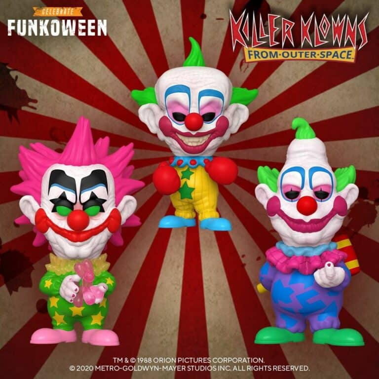 Pop! Movies - Killer Klowns From Outer Space