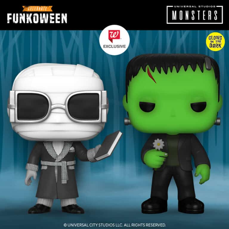 Pop! Movies - Universal Monsters Funkoween Funko Pop Figures