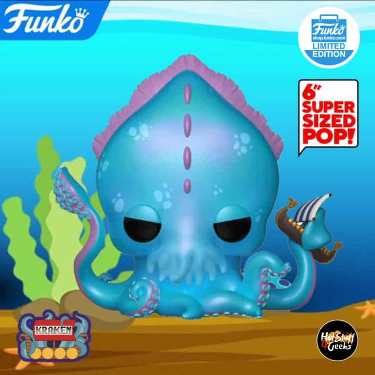 Pop! Myths 6 inches Kraken Funko Pop Vinyl Figure: Funko Shop Exclusive