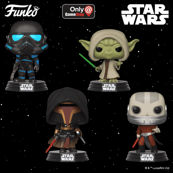 Pop! Star War Star Wars Games Funko Pop Games