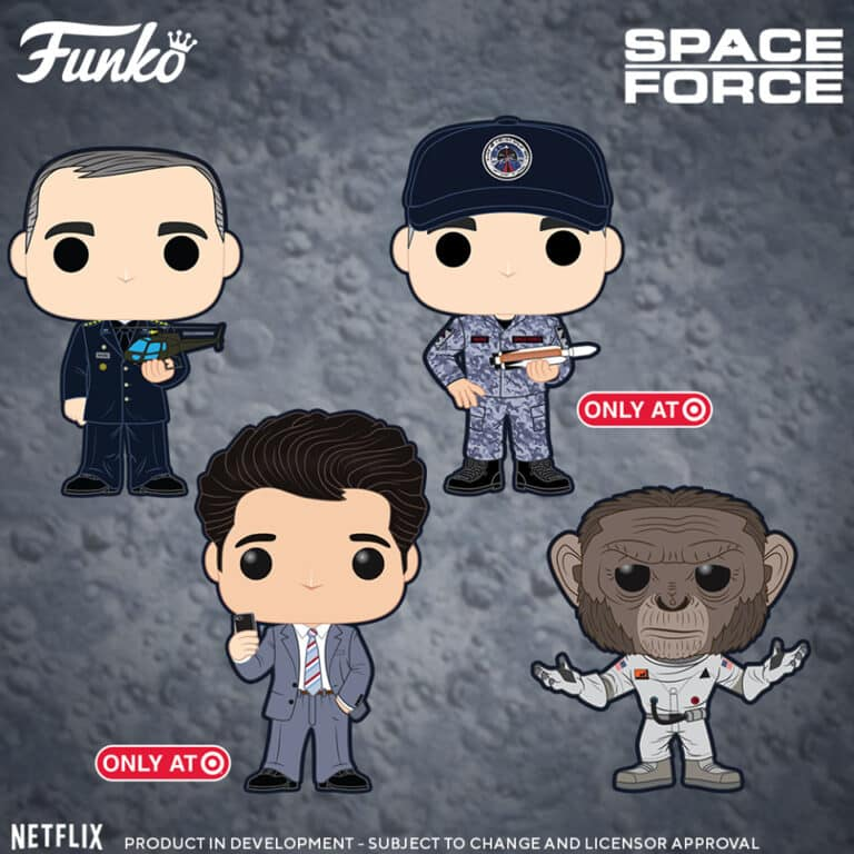 Pop! Television – Space Force Wave Vinyl Figures